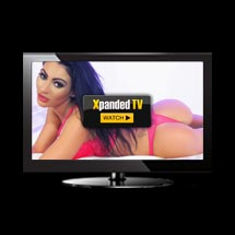 Xpanded TV Babe live on television ready for live sexchat